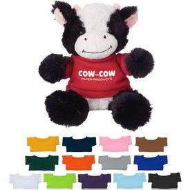 """6"""" Cuddly Cow"""