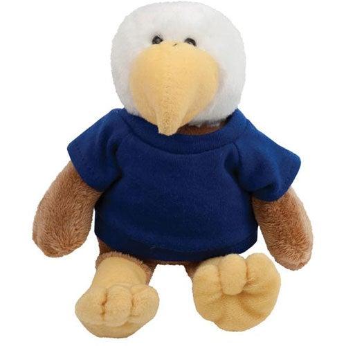 Promotional 6 Eagle Plush Mascots With Custom Logo For 7 01 Ea