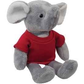 "Elephant Plush Mascot (6"")"