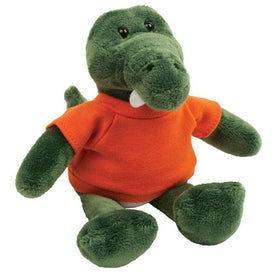 "Plush 6"" Mascot (Gator)"