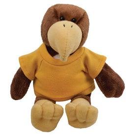 "Hawk Plush Mascot (6"")"