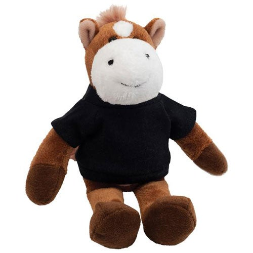Promotional 6 Horse Plush Mascots With Custom Logo For 7 01 Ea