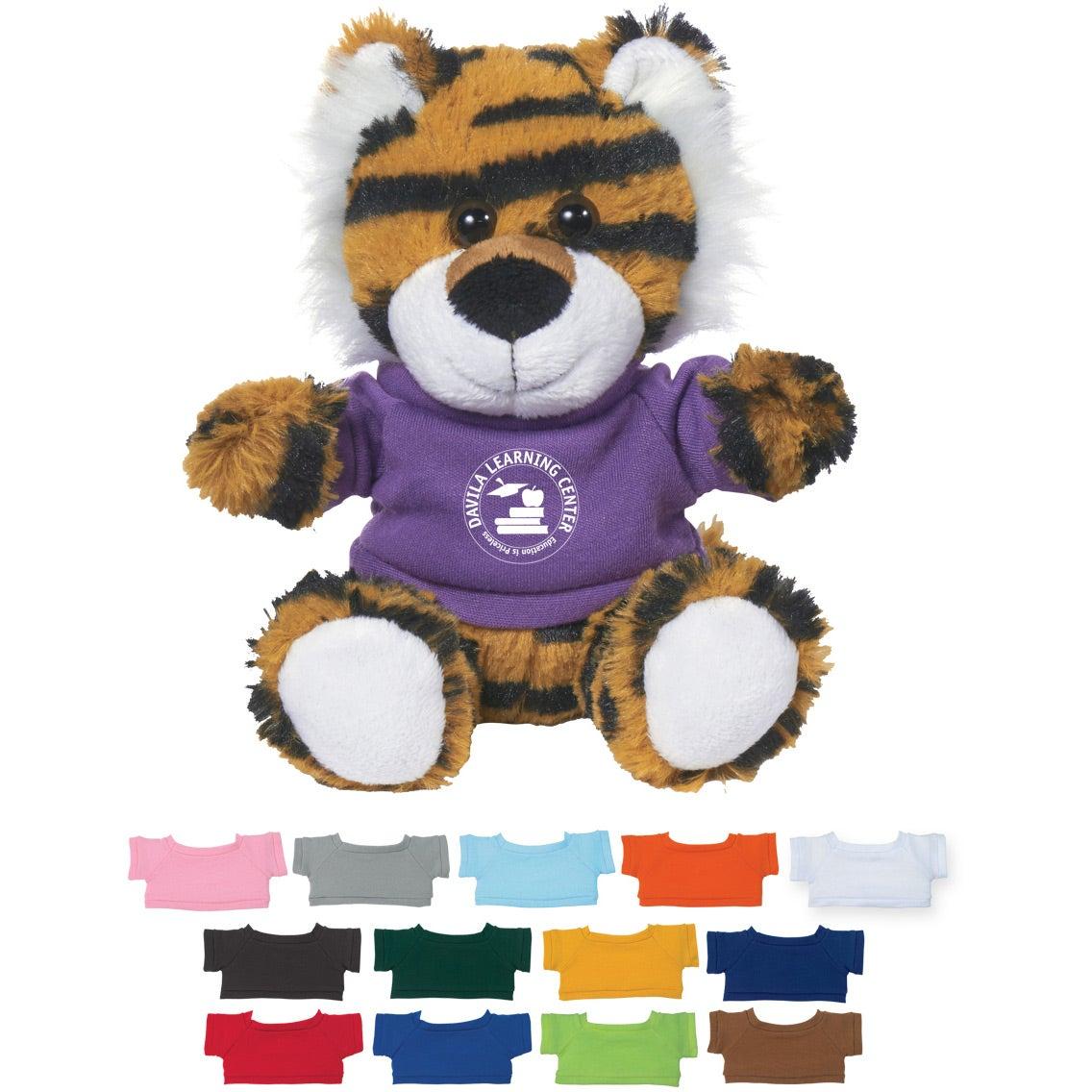 "Terrific Tiger Plush with Shirt (6"")"
