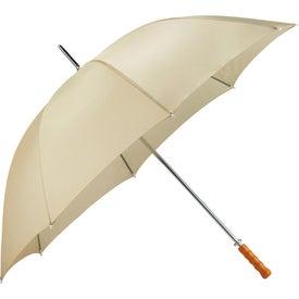 "Printed 60"" Palm Beach Steel Golf Umbrella"