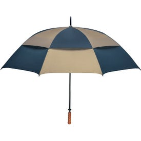 "Imprinted 68"" Arc Vented, Windproof Umbrella"