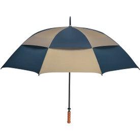 "Imprinted 68"" Arc Vented, Windproof Umbrella"