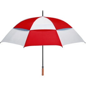 """68"""" Arc Vented, Windproof Umbrella Imprinted with Your Logo"""
