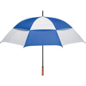 """68"""" Arc Vented, Windproof Umbrella Branded with Your Logo"""