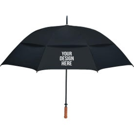 "68"" Arc Vented, Windproof Umbrella"