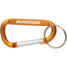 Monogrammed 6cm Carabiner W/Keyring