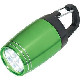 Promotional 6 LED Aluminum Clip Light