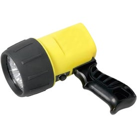 Imprinted 6 LED Ultra-Bright Spotlight