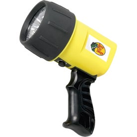 Imprinted 6 LED Ultra-Bright Spotlight
