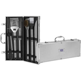 6-Piece Barbeque Set - Stainless Steel