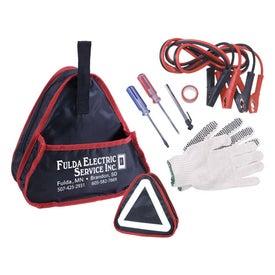 Personalized 6 Piece Emergency Auto Kit