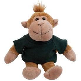 "Monkey Plush Mascot (8"")"
