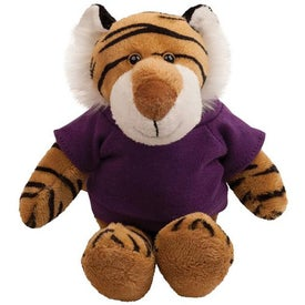 "Tiger Plush Mascot (6"")"