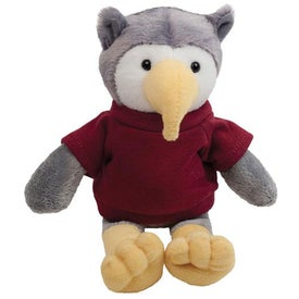 """Plush 6"""" Mascot Imprinted with Your Logo"""