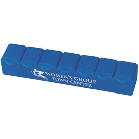 7-Day Strip Pill Box with Your Logo
