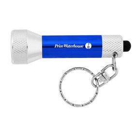 Monogrammed 7 LED Key Chain Flashlight
