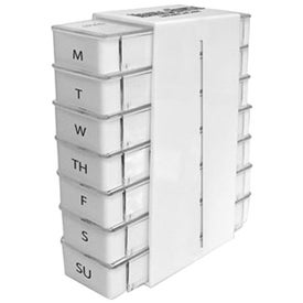 7 Day Pill Box Stack with Your Logo