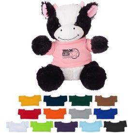"""8 1/2"""" Cuddly Cow"""