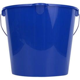 Imprinted 7 Quart Bucket