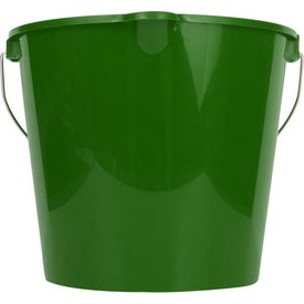 7 Quart Bucket Printed with Your Logo