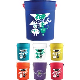 Sand Pail with Handle (87 Oz.)