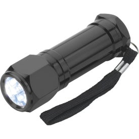8-LED Aluminum Flashlight for Your Organization