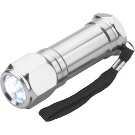 8-LED Aluminum Flashlight Giveaways