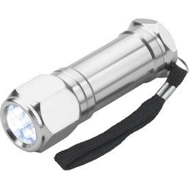 8-LED Aluminum Flashlight Giveaways