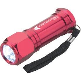 8-LED Aluminum Flashlight