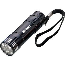 8 LED Flashlight with Your Slogan