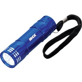 Branded 8 LED Flashlight