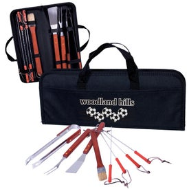 8 Piece Portable Barbeque Set