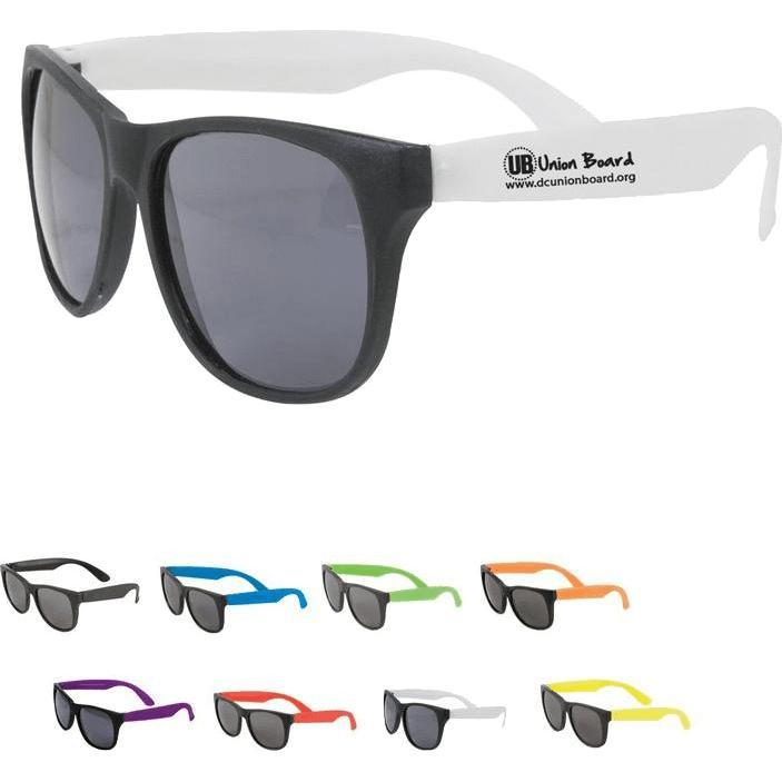 Promotional Customizable Sunglasses with Custom Logo for $0.657 Ea.