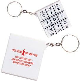 Tic-Tac-Toe Key Chain