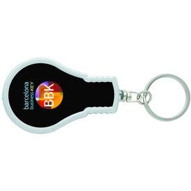 Printed A-Ha Keychain