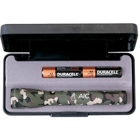 Camouflage Mini Mag Lite Flashlight