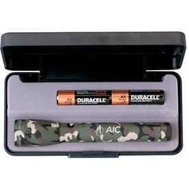 Camouflage Mini-Mag-Lite Flashlight (AA)