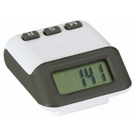 Branded Accent Pedometer