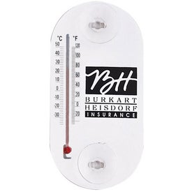 Acrylic Oval Temperature Gauges