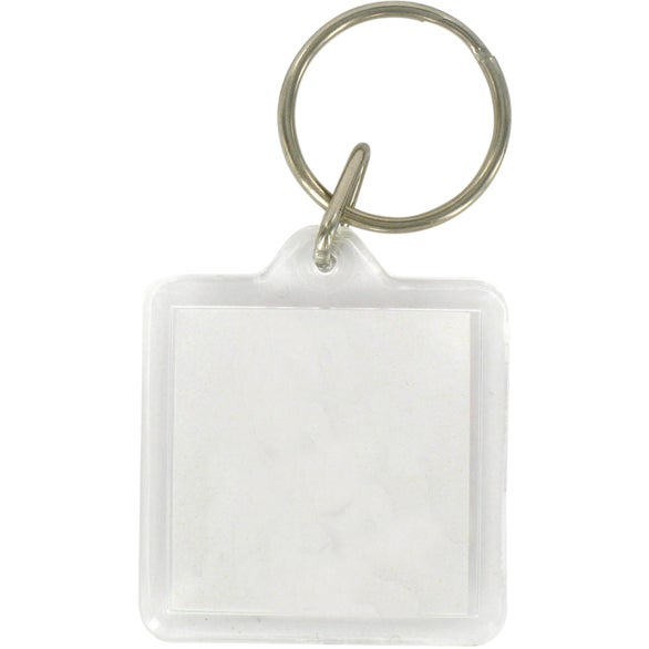 Acrylic Square Key Tag