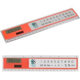 Monogrammed Add 'N Measure Calculator/Ruler