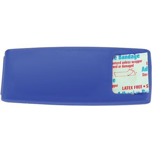 Translucent Blue Adhesive Bandage Dispenser
