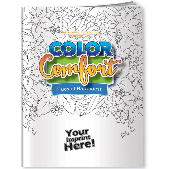 See Item Flowers Theme Adult Coloring Book