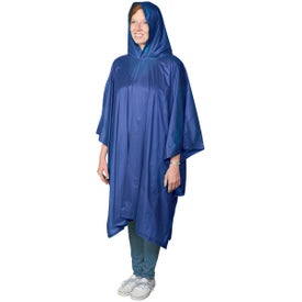 Branded Adult Poncho