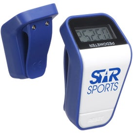 Branded Air Weight Pedometer