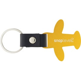 Airplane Keychain with Your Logo